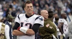 new england patriots quarterback tom brady watches from the sideline mark zaleski ap