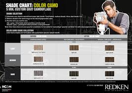 Redken Color Camo Color Chart Redken For Men Color Camo Shade Chart In 2019 Hair Color