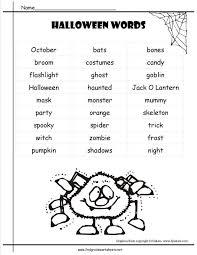 Excel. fun worksheets for 5th grade: Halloween Fun Worksheets Kids ...