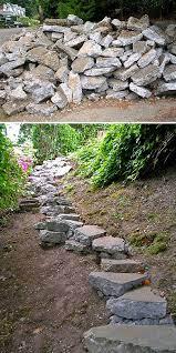 diy garden steps outdoor stairs