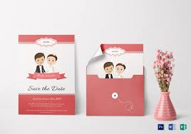 Unique Wedding Invitation Card Template