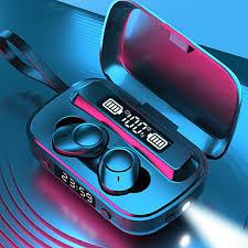 LITBest <b>A13 TWS</b> True Wireless Earbuds Clock Flashlight Power ...