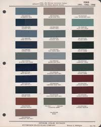 Paint Chips 1941 Ford Truck