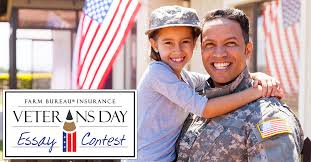 veterans day essay contest idaho farm bureau insurance in honor of veterans day farm bureau insurance is proud to announce the 2017 veterans day essay contest idaho students family members who have served