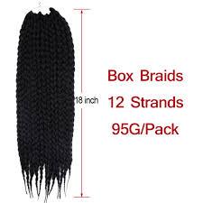 <b>Feibin Twist</b> Crochet <b>Box Braid</b> Hair Extensions For Afro Women ...