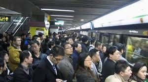 crowded subway train station. Wonderful Crowded With Crowded Subway Train Station