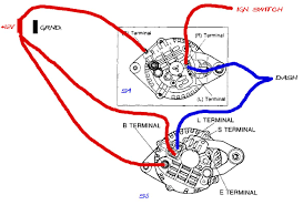 wiring diagram for a car alternator wiring image wiring diagram car alternator jodebal com on wiring diagram for a car alternator