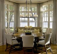 Impressive Kitchen Bay Window Curtain Ideas Sophisticated Curtains For Bay  Windows In Dining Room Gallery 3d