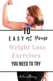 at home weight loss exercises