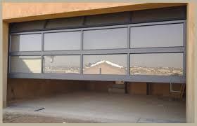 frame glass garage transluscent white