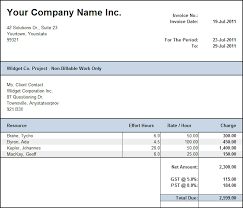 Invoice For Hours Worked On Invoice Invoice Hours