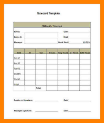 Printable Weekly Time Cards 8 Free Printable Time Cards Reptile Shop Birmingham