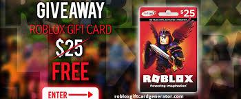 roblox gift card generator roblox