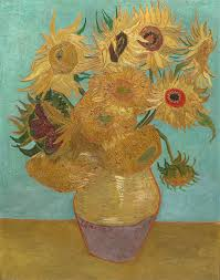 vincent van gogh painting sunflowers by vincent van gogh