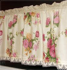 Curtain, rose curtain,kitchen,romantic house,curtain romantic to your  window,