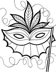 Small Picture Tiki Mask Coloring Pictures An Ethnic Page Download Print Online