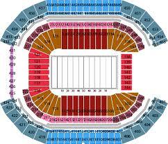 Arizona Cardinal Seating Chart Virtual Arizona Cardinal Stadium Seating Chart