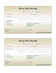 House Rent Bill House Rental Receipt Format 24 Images About Invoice On Pinterest 1