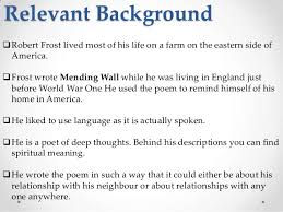 mending wall by robert frost 5