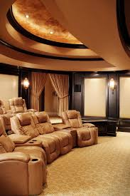 media room seating furniture. gorgeous palliser furniture in home theater mediterranean with seating next to small pool table alongside media room