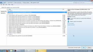 How To Update Windows 7 How To Disable Automatic Update Windows 7 Youtube