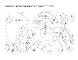 Nordictrack x10 incline trainer treadmill parts n 19940 page 2 wiringm proform circuit horizon wiring diagram precor