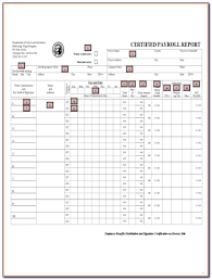 Dol Certified Payroll Form Excel Form Resume Examples Qjpapowlme