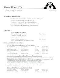 Veterinary Resume Samples Luxury Here Are Veterinary Technician