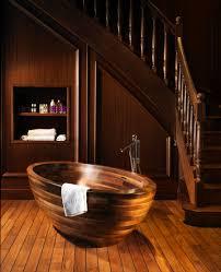 Wooden Bathtub Exquisite Wooden Bathtub Designs Imprinting A Unique Room