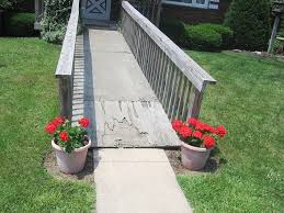how to build a temporary wheelchair ramp