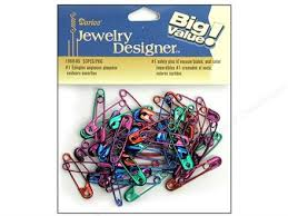 Safety Pins – Find the Right Type and Size -- CreateForLess & jewelry safety pins Adamdwight.com