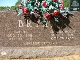 BRYANT, HARLIE - Cleveland County, Arkansas   HARLIE BRYANT - Arkansas  Gravestone Photos