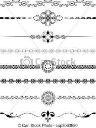 Designs Of Borders For Decoration