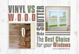 vinyl vs wood shutters
