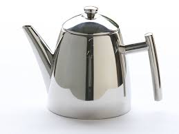frieling  stainless steel primo teapot with infuser ounce