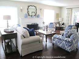 casual decorating ideas living rooms. Blue And White Living Room Decorating Ideas  Enchanting Decor Fa Casual Rooms I