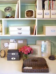 chic home office decor:  home office chic organized home office for under  interior design in chic home office