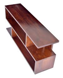 S Shaped Coffee Table Dark Shade Dakota S Shaped Large Tv Unit Or Display Stand With