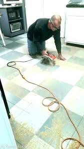 vinyl adhesive remover removing tile how to remove flooring glue