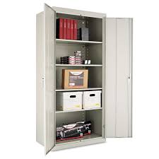 Heavy Duty Storage Cabinets Assembled 78 High Storage Cabinet By Alerar Alecm7824lg