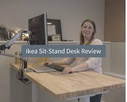 ikea bekant sit stand desk review