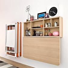 ... Large Size Space Saving Calligaris Spacebo Wall Mounting Folding Table  Collapsible Side Crafthubs ...
