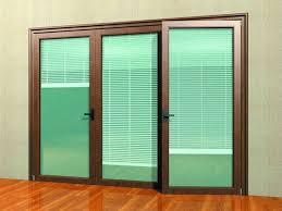 sliding patio doors with blinds between the gl home design ideas