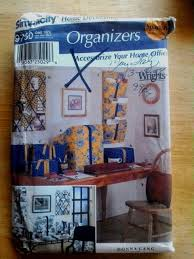 ebay home office. Simplicity Pattern 9750 Home Dec Office Organizers Covers Uncut Ebay