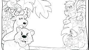 Safari Animals Template Safari Animals Coloring Pages Smestajnovisad Info