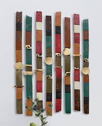 Artful Home Story Sticks By Rhonda Cearlock Ceramic Wall Sculpture Artful Home