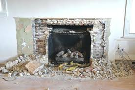 removing stone fireplace remove stone fireplace removing faux stone fireplace