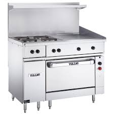 electric range with griddle. Vulcan Endurance Series 48 Inside Electric Range With Griddle