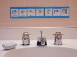 reminder strips how to brush teeth wash hands go to the bathroom get dressed etc for special needs learners but any toddler can benefit from these basic bathroom strip