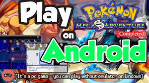 Playing Pokemon Mega Adventure on Android - It's working in 2020! -  Pokemoner.com - YouTube